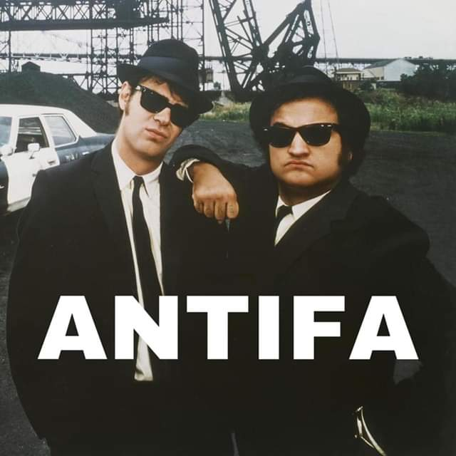 Blue Brothers Antifa