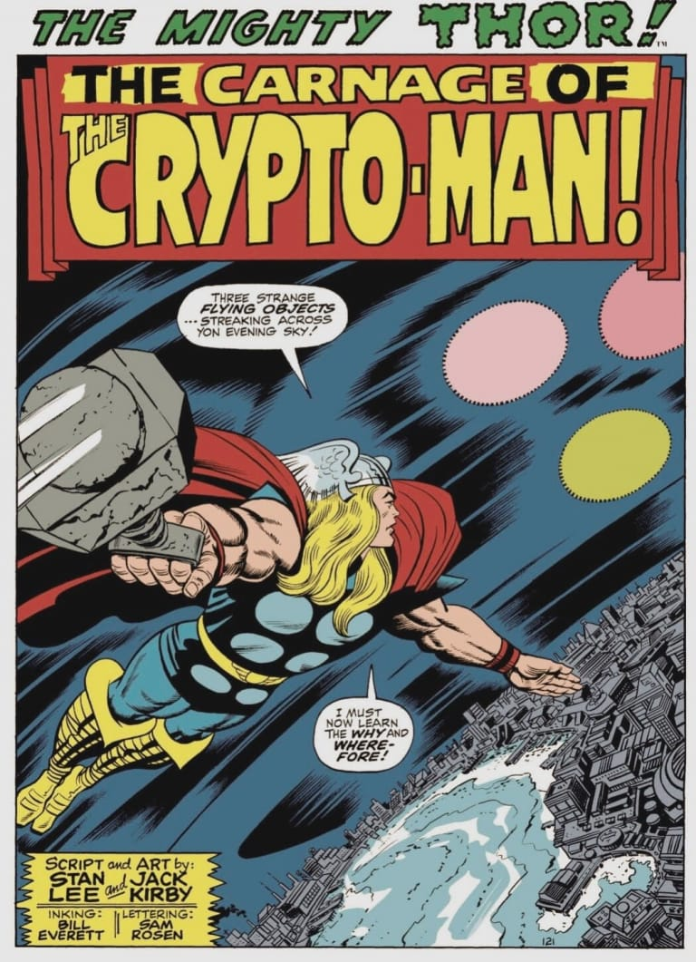 The Carnage of The Crypto-Man!